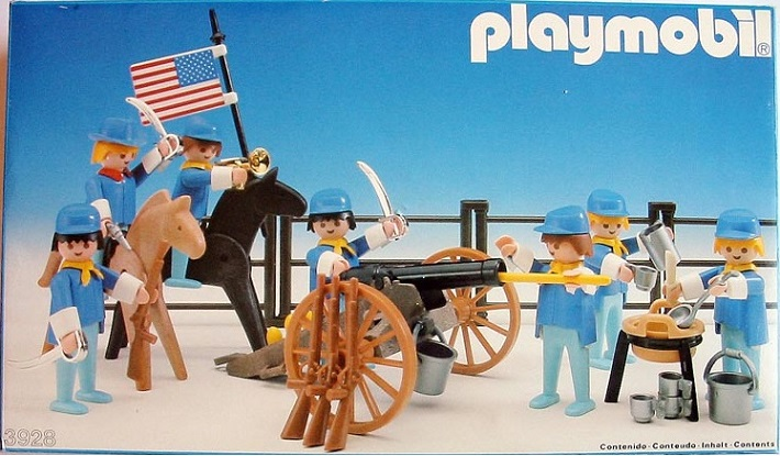 Playmobil 3928-esp - Union soldiers - Box