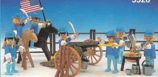 Playmobil - 3928-esp - Union soldiers