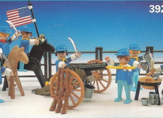 Playmobil - 3928-esp - Union soldiers