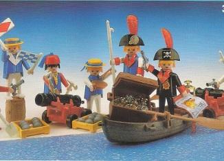 Playmobil - 3930-esp - 7 pirates
