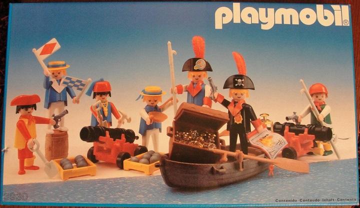 Playmobil 3930-esp - 7 pirates - Box