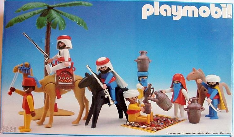 Playmobil 3931-esp - Bedouins - Box