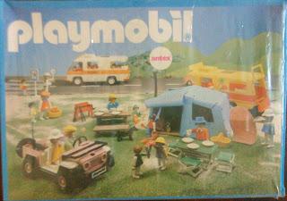 Playmobil 3940v1-ant - Pink Jeep - Back