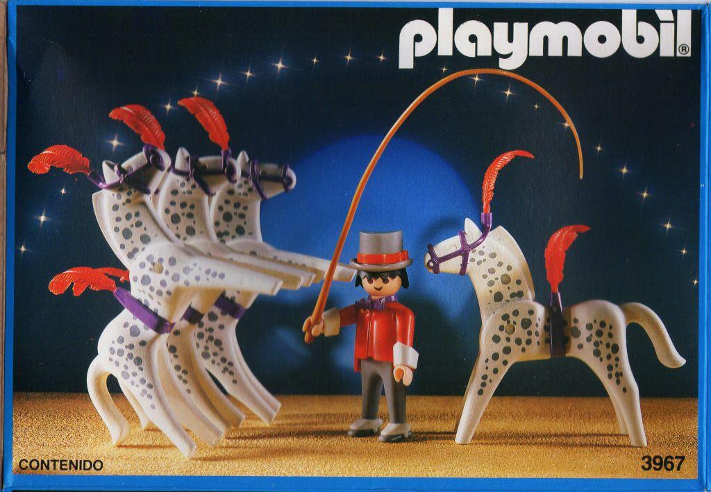 Playmobil set 3967 ant horse show klickypedia for Playmobil pferde set