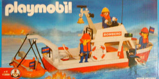 Playmobil - 1-3999-ant - Boat fire