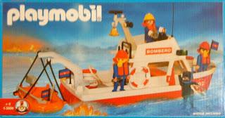 Playmobil 1-3999-ant - Lancha de bomberos - Caja