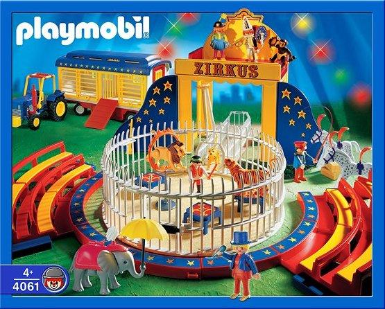 Playmobil set 4061 ger circus wild animal act klickypedia - Cirque playmobil ...