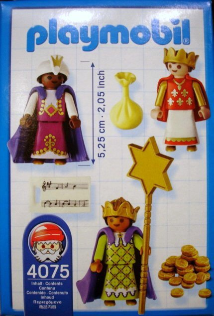 Playmobil 4075 - Three Little Kings - Back