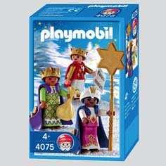 Playmobil 4075 - Three Little Kings - Box