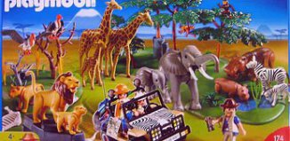 Playmobil - 4081 - Mega Safari Set