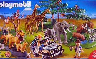 Playmobil - 4081 - Mega Safari Set