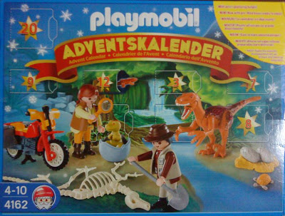 Playmobil 4162 - Advent Calendar Dinosaur Expedition - Box