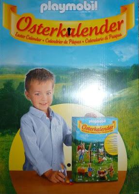 Playmobil 4169 - Easter calendar - Back