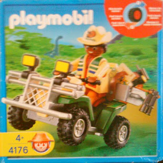 Playmobil 4176 - Explorer Quad - Box