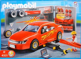 Playmobil 4321 - Car Repair and Tuning Shop - Box