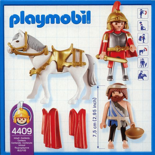 Playmobil 4409 - Saint Martin - Back
