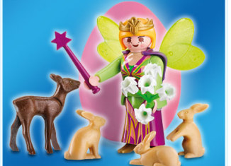 Playmobil - 4919v3 - Pink Egg Fairy with Animals