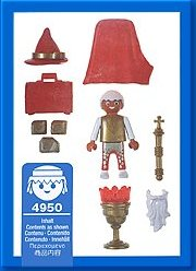 Playmobil 4950-ger - Magic Gnome - Back