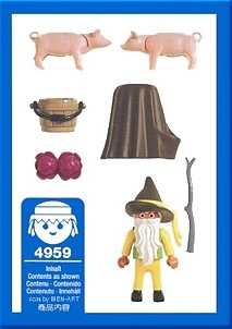 Playmobil 4959-ger - Farmer Gnome - Back