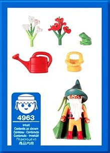 Playmobil 4963-ger - Garden Gnome - Back