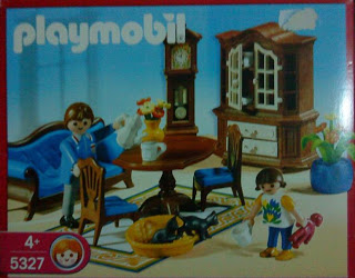 Playmobil 5327 - Living Room - Box