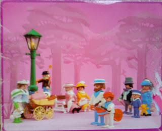 Playmobil 5502 - Nanny & Children - Back