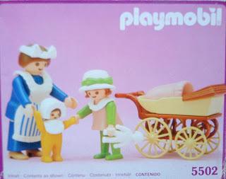 Playmobil 5502 - Nanny & Children - Box