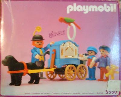 Playmobil 5550 - Organ Grinder With Children - Box