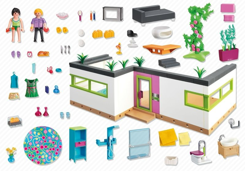 Playmobil Set 5586 G Stebungalow Klickypedia