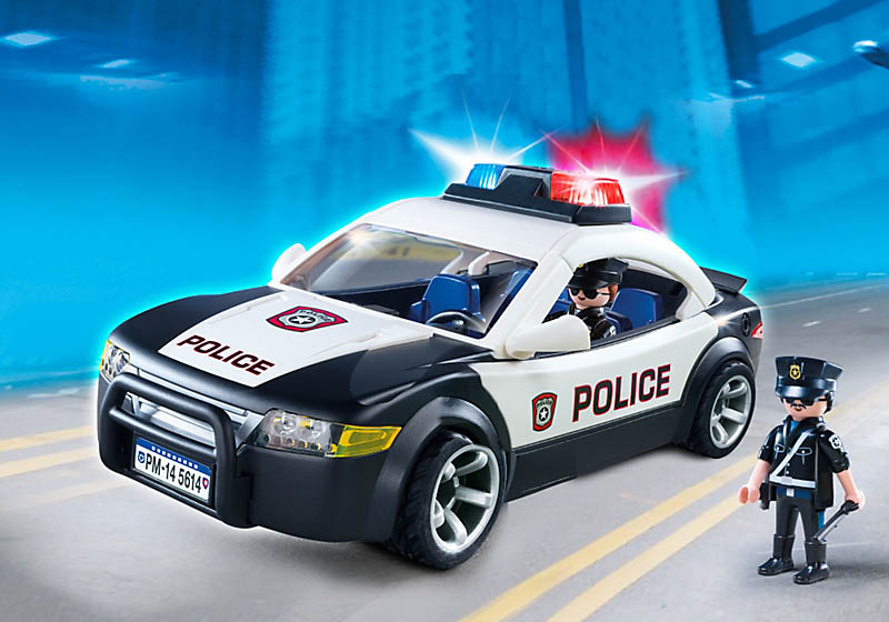 Playmobil Set 5614 Usa Police Car Klickypedia