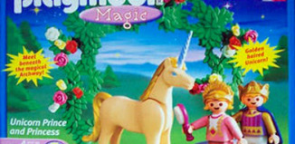 Playmobil - 5761 - Unicorn Prince and Princess