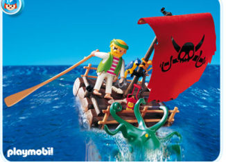 Playmobil - 5780-usa - pirate raft