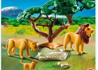 Playmobil - 5903 - Lions with skeleton