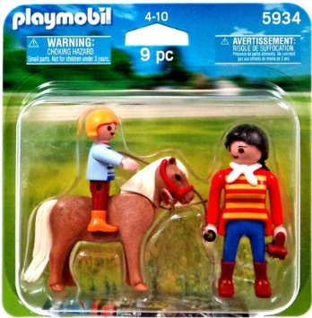 Playmobil 5934 - Duo Pack Pony - Box