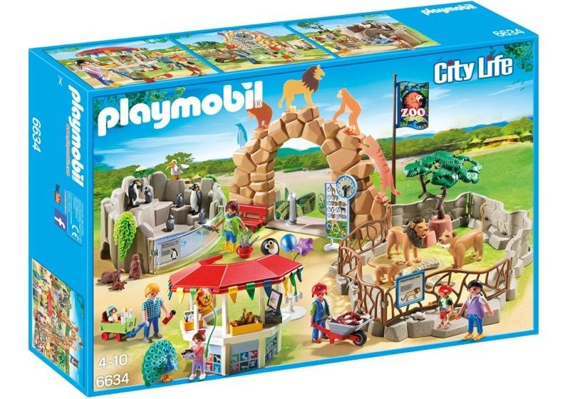 Playmobil 6634 - Large City Zoo - Box