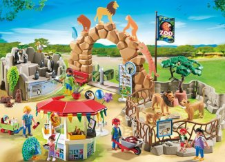 Playmobil - 6634 - Large City Zoo