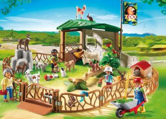 Playmobil - 6635 - Petting Zoo