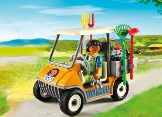 Playmobil - 6636 - Zookeeper's Cart