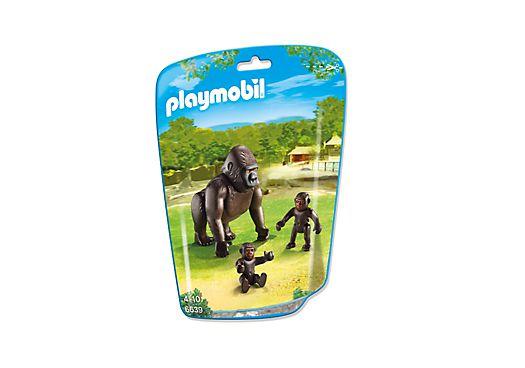 Playmobil 6639 - Gorilla with baby - Box