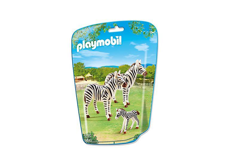 Playmobil 6641 - Zebra family - Box