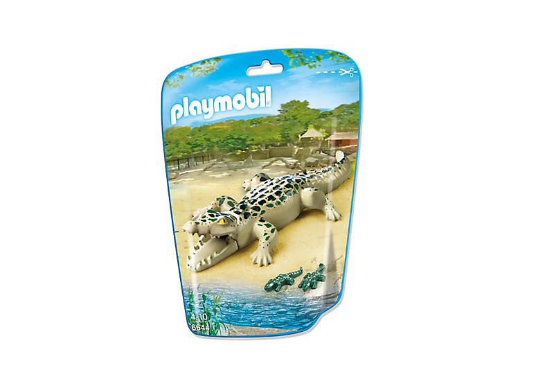 Playmobil 6644 - Alligator with Babies - Box