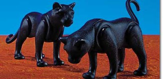 Playmobil - 7091 - 2 Panthers