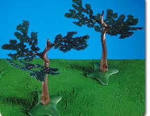 Playmobil - 7094 - 2 Small Oak Trees