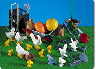 Playmobil - 7121 - Barnyard Animals & Accessories