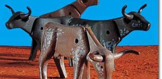 Playmobil - 7183 - Longhorn Cattle