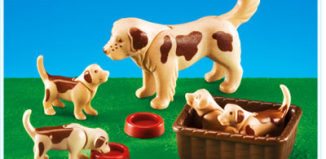Playmobil - 7366 - Dog with Puppies
