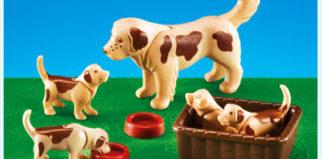 Playmobil - 7366 - Hund mit Welpen