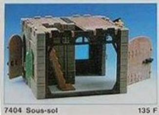 Playmobil - 7404 - Lower storey for Old House