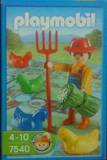 Playmobil 7540 - Chicken Farm Game - Box
