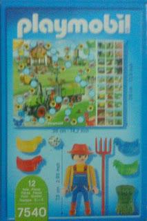 Playmobil 7540 - Chicken Farm Game - Back